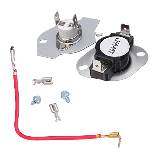 Dryer Part 279816 AP3094244 PS334299 Thermostat /& Fuse Kit for Whirlpool