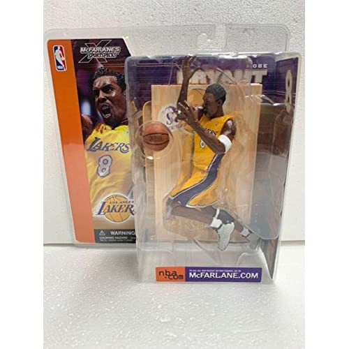 Buy Mcfarlane Toys Nba Basketball Sports Picks Series 1 Action Figures Kobe Bryant Los Angeles Lakers Yellow Jersey Online In Kuwait B00foszssw