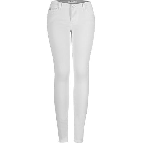 d8ef95cc43cb4 Buy 2LUV Women's Stretchy 5 Pocket Skinny Jeans with Ubuy Kuwait. B07BVK4P8S