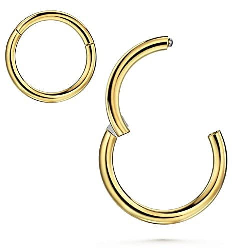 Jofukin Nose Rings Hoop Cartilage Earring 20g 18g 16g 14g 12g 10g