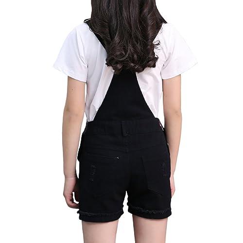 BINPAW Girls Cotton Overall Short
