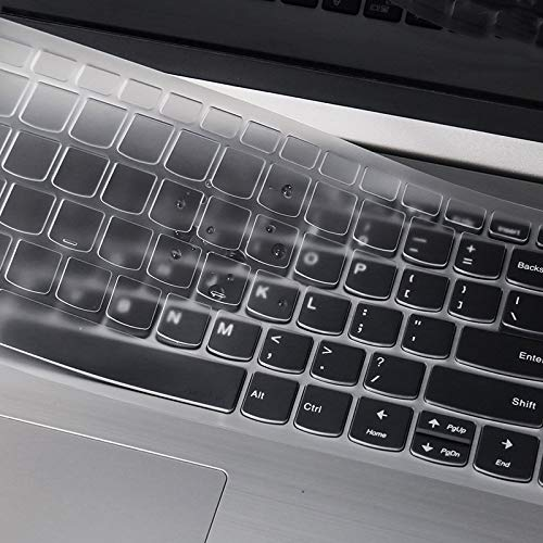 White LEZE Ultra Thin Keyboard Skin Cover for Lenovo V330,ideapad 320 15.6//17.3,ideapad 330 330s 15.6//17.3,ideapad 520 15.6,Ideapad L340 15.6//17.3 Laptop
