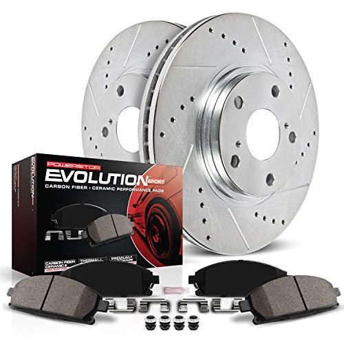 Z23 Evolution Sport Carbon-Fiber Ceramic Rear Brake Pads Power Stop Z23-1088