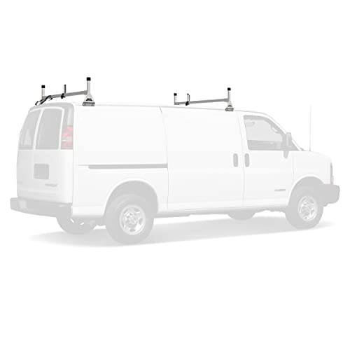 Buy Vantech Aluminum H1 Rack 2 Bar System for a Chevy Express 1996