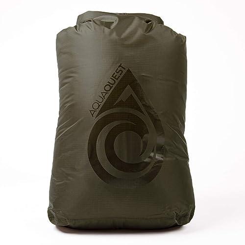 10 20 60 Camo or Olive Drab 30 Aqua Quest Rogue Dry Bags 100/% Waterproof 100 L