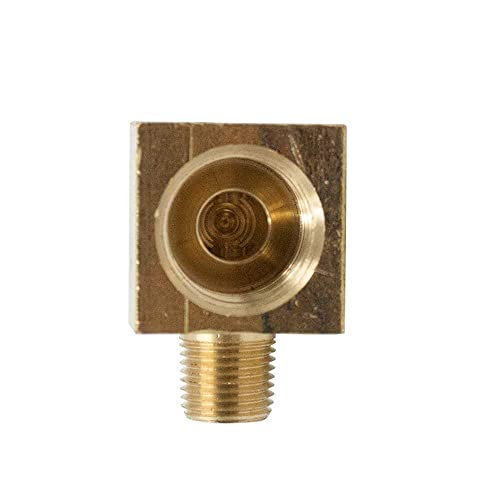 Legines Brass Inverted Flare Fitting Pack of 2 Brake Line Union 1//8 Tube OD x 1//8 Tube OD
