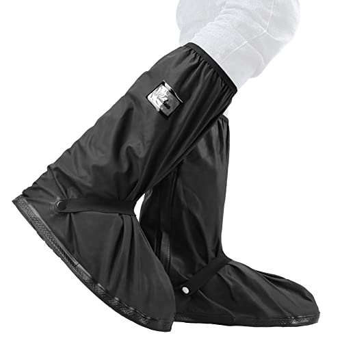 Foldable Shoes Cover Galoshes Overshoes Women Men Rain Snow Boots Covers