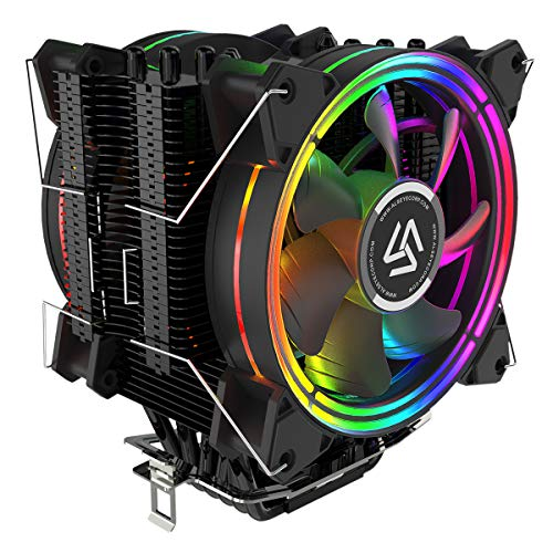 4 Pin PWM120mm Cooler Fan Heatsink Cooling Radiator For Computer PC