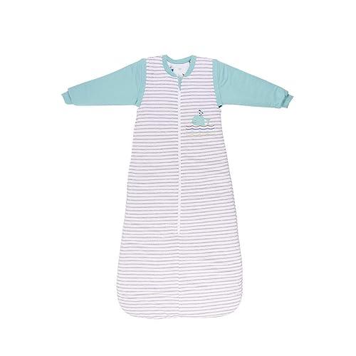 Slumbersac Sleeping Bag with Long Removable Sleeves 3.5 Tog AOP Butterfly 3-6 years//130cm