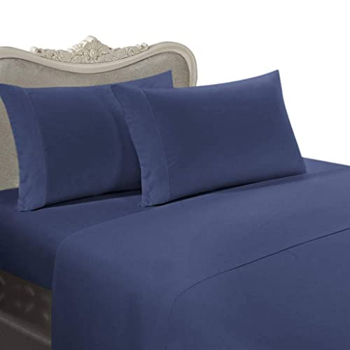 ALL SIZES Attached Super Soft Microfiber Water Bed Sheet With Pole Attachment