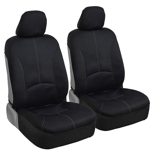 Gift Car Seat Covers For Car SUV Van Neoprene Universal Fitment Black w
