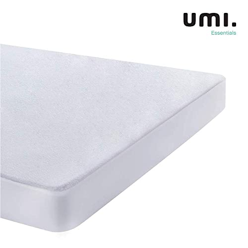 Double Terry Towel Towelling Mattress Protector Fully Enclosed Elastic Cover