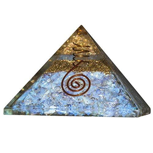 Extra Large 65-70mm Black Tourmaline Stone Orgone Pyramid Energy Generator