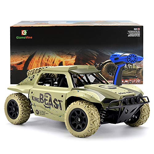 Gizmovine Rc Cars 1 18 Scale 4wd High Speed Vehicle 15 5mph 2 4