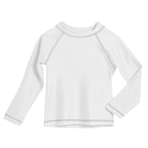 City Threads Baby Rash Guard in Long and Short Sleeves with SPF50 Made in USA
