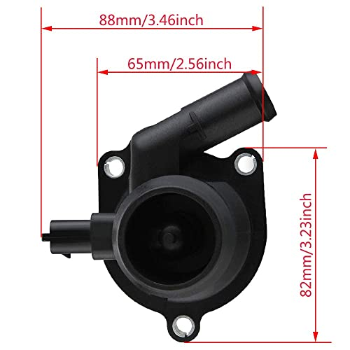 Chevy TRAX 2013-2017 Chevy CRUZE 2011-2016 Chevy SONIC 2012-2017 CENTAURUS 55565336 730-221 Thermostat Housing Assembly Engine Coolant Compatible with BUICK ENCORE 2013-2017