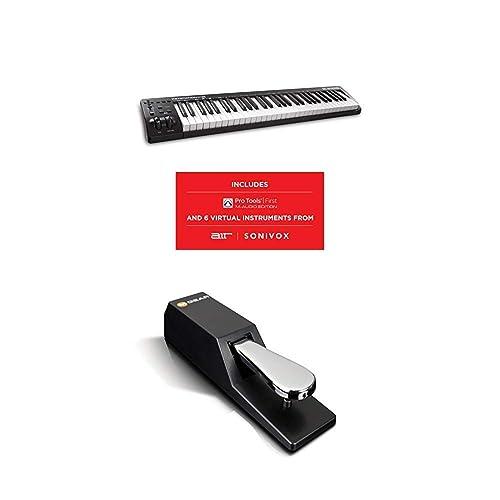 Professional 61 key usb midi keyboard controller for macbook pro