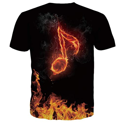 JAMZER Hot Sale Unisex 3D Printed Summer Casual Short Sleeve T Shirts Tees Online