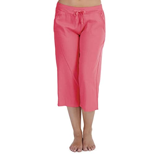 new release cheap for sale official shop Buy Ladies 100% Linen Cotton Summer 3/4 Three Quarter Length ...