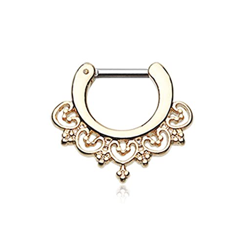 Golden Radiant Kao WildKlass Septum Clicker