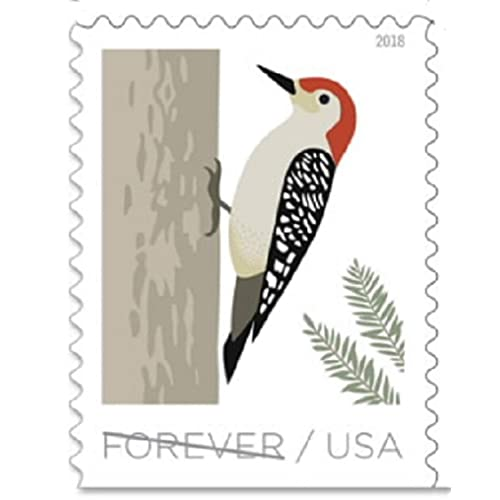 USPS Forever Stamp Sheets Featuring Birds 5 Sheets, Birds in Winter