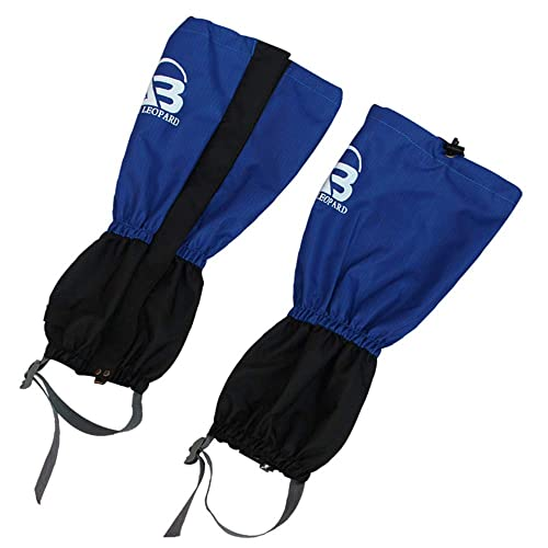 Homebeast 1 Pair Anti Bite Snake Guard Leg Protection Outdoor Snow Proof Waterproof Gaiter Cover Camping Mountaineering Climbing Hiking