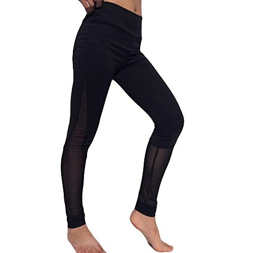 Colmkley Womens Yoga Pants Leggings Sport Fitness Hips Pleated Sweatpants Solid