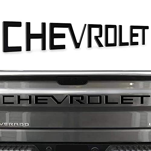 Gloss Black Tailgate Insert Decals Letters KENPENRI 3D Raised Tailgate Letters for Ford F150 2018 2019 2020 Emblem Inserts