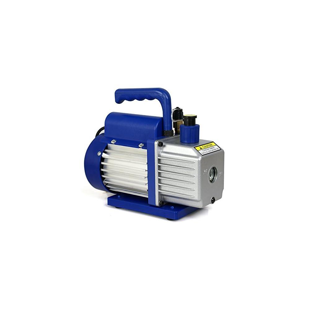 Zeny 174 Single Stage 3 5cfm 5 Pa Rotary Vane Vacuum Pump 3