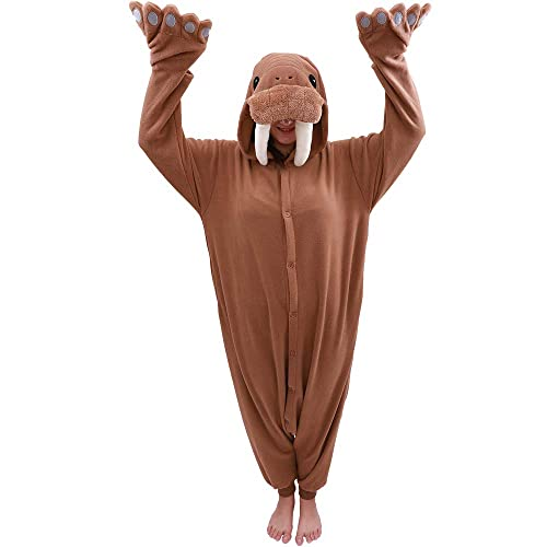 Women Men Unisex Adult Onesie0 Animal Hippo Kigurumi Pajamas Cosplay Costume