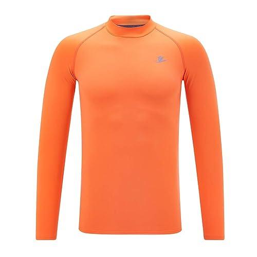 3 Pack Boys Thermal Shirts Long Sleeve Athletic Compression Shirt Fleece Football Undershirts Performance Base Layer