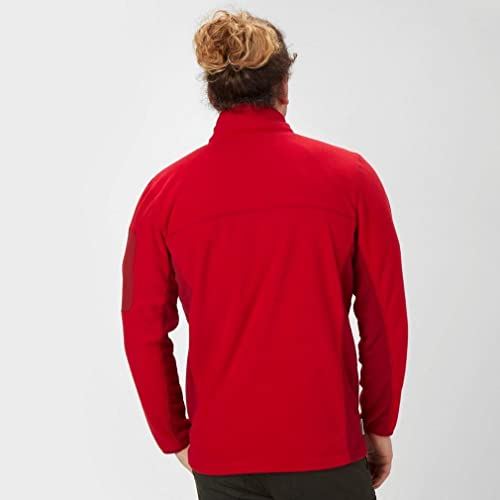New Peter Storm Men's Panelled Half Zip Fleece