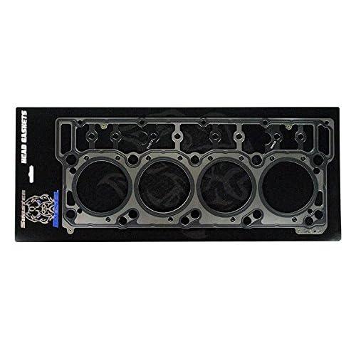 w//RTV Silicone for 03-10 Ford 6.0L PowerStroke Diesel Turbo F-250 F-350 F-450 F-550 E350 E450 Super Duty 18mm New MLS Cylinder Head Gasket Set