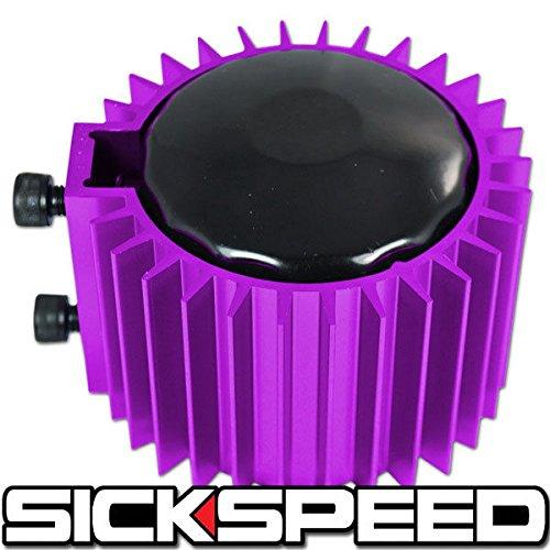 Purple Engine Oil Filter Cooler//Heat Sink Cover//Cap Billet Aluminum Kit Ef Eg for Jeep Wrangler