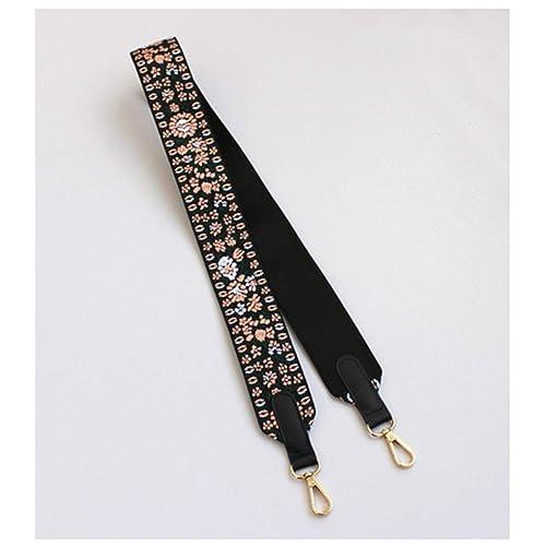 5CM Width Colorful Shoulder Straps Replacement Handbags Handles Belts Gold Buckle Hardware Purses Bag Accessories B
