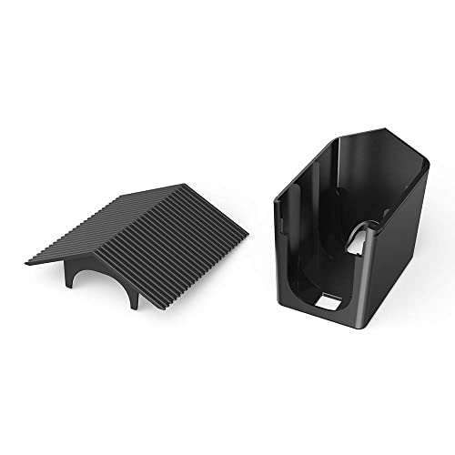 Aobelieve Weather-Resistant Birdhouse Cover for Arlo Pro and Arlo Pro 2 Camera Black, 2 Pack