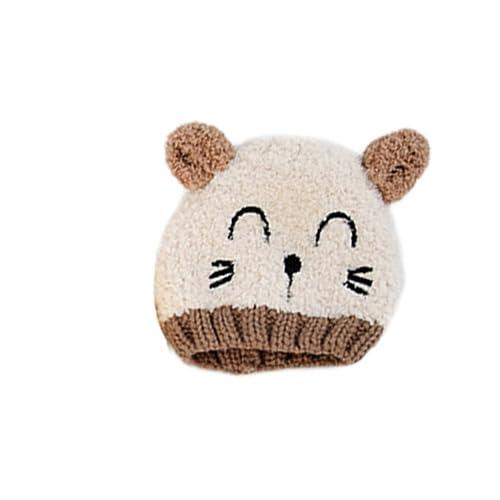 ❤️ Mealeaf ❤️ Toddler Hat Baby Boys Girls Infant Newborn Sun Protection Cotton Knit Winter Warm Kids Baseball Cap Beanie