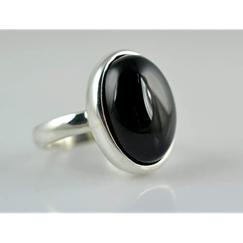 Black Onyx Ring Black Onyx 925 Solid Sterling Silver Ring Handmade Ring Silver Ring Black Ring Size F To Z Uk Buy Products Online With Ubuy Kuwait In Affordable Prices B07c9c7q6b