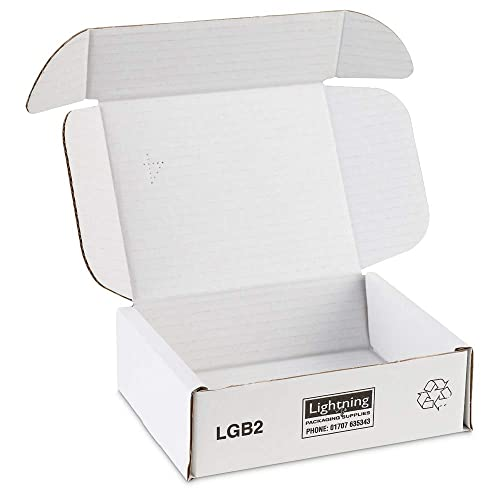 222x172x67mm Pack of 25 Boxed-Up Royal Mail Small Parcel Postal Boxes 9X7X3