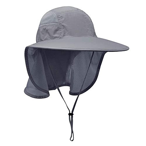 a9e3399d Buy Lenikis Unisex Outdoor Activities UV Protecting Sun Hats with Neck Flap  with Ubuy Kuwait. B011G9XZLE