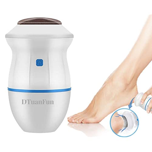 2020 Latest Electronic Pedicure Foot File Callus Remover Portable Electric Foot Grinder Best Pedicure Tools Double Head Professional Feet Care Sander For Cracked Heels And Hard Skin Blue Buy Products Online