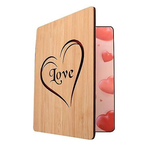 Hallmark Signature Valentine/'s Day Card With Wooden Sign