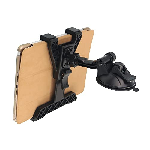 Tablet Holder Car Air Vent Mount,OHLPRO Universal Dashboard Windshield 2-in-1 Cradle TPU Suction Sticky Gel,for iPad//iPad Mini Samsung Galaxy Size 6-10.5 All Tablets for iPad//iPad Mini Samsung Galaxy Size 6-10.5 All Tablets TQ80-P5