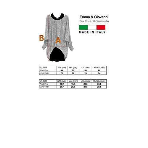 Women Pile Fabrics Emma /& Giovanni - Long Sleeve Jumper