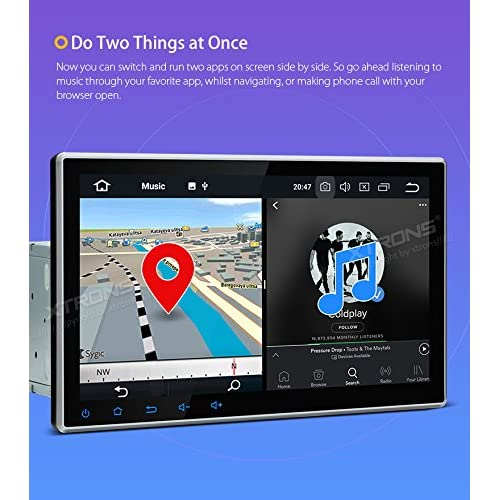 Buy XTRONS 10 1 Inch Android 8 0 Octa Core 4G RAM 32G ROM HD