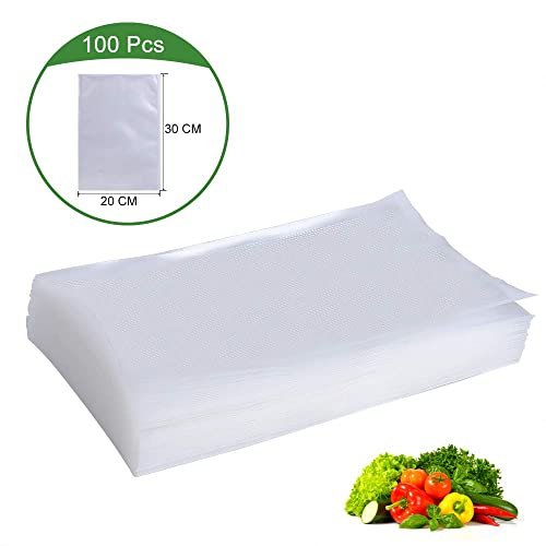 by Videmaster High Quality Embossed Vacuum Food Sealer Bags 15cm x 30cm Qty 100