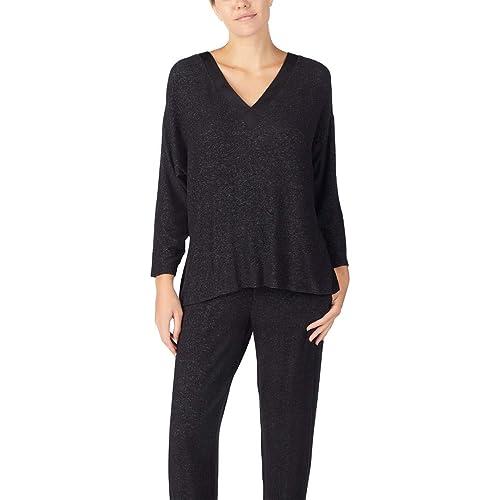 Donna Karan Sleepwear Womens Sweater Lounge Top D246938