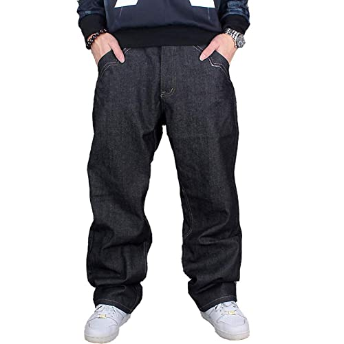 CRYYU Men Solid Casual Multi Pockets Elastic Waist Jogger Cargo Pants