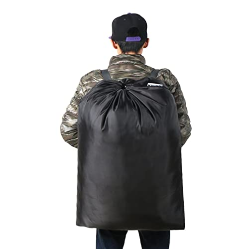 dorm and apartment dwellers-black 26/'/'x34/'/' Extra Large Laundry Bag Sturdy rip and tear resistant polyester material with drawstring closure Ideal machine washable laundry bags for college