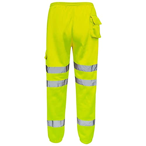 Standsafe Reflective High Visibility Work Jogger Pant S-5XL Yellow